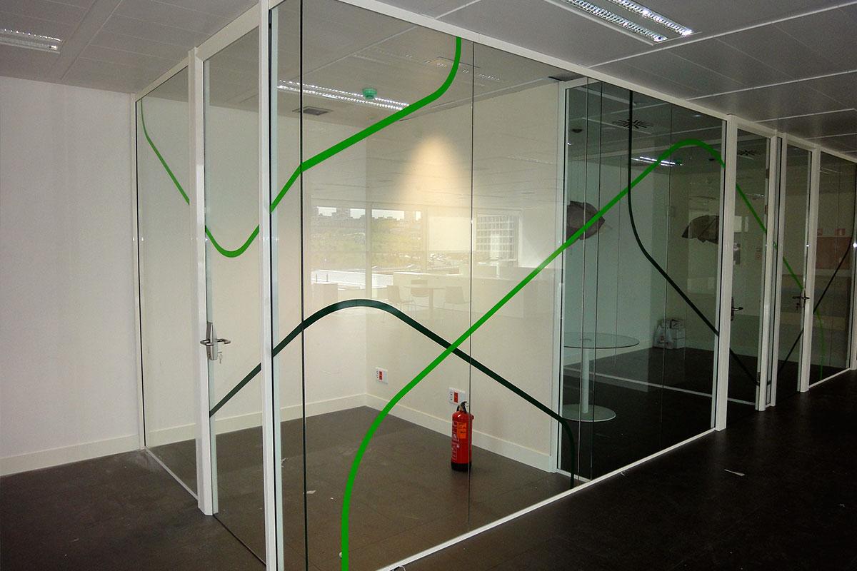 Mampara de sepación Modelo ARCO - Mobiliario de oficina
