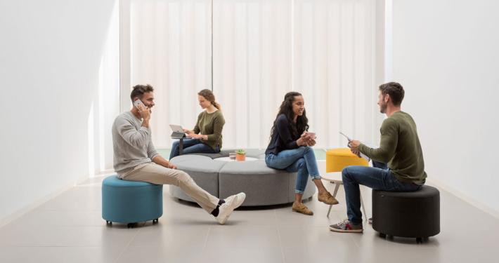 BEND Soft seating - Mecux Mobiliario de oficina